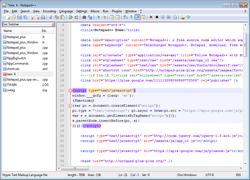 تثبيت  Notepad++ لتعديل الملفات